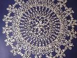 Serweta koronkowa - frywolitka o śred. 57 cm