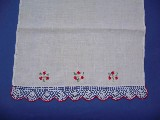 Embroidered tea cloth (2)