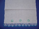 Embroidered tea cloth (4)