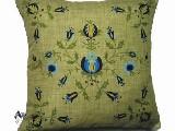 Poduszka dekoracyjna folk - kaszubska1