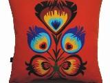 Poduszka ozdobna folk kwiat ludowy