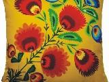 Poduszka ozdobna folk kwiat ludowy2