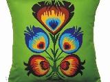 Poduszka ozdobna kwiat ludowy4