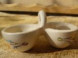 Garncarstwo - Ceramika bolimowska - Dwojaczek do święconki