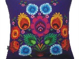 Poduszka ozdobna folk kwiat (025)