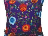 Poduszka ozdobna folk kwiaty (026)
