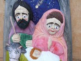Folk wooden nativity scene (1)