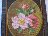 Obraz haftowany kwitnąca jabłoń
