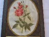 Obraz haftowany ogrodowa róża