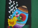 Cut Lowicz - Easter postcard (14)