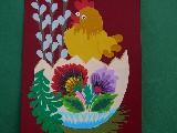 Cut Lowicz - Easter postcard (17)