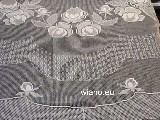 A curtain of lace mesh (fillet) - living room 270x300 (p51)