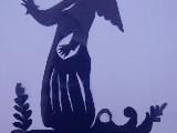 Wycinanka ludowa - Aniołek (czk-31)