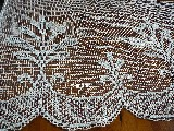 Lace curtain with mesh (fillet),  70x138 (p23)