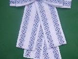 Kokarda ręcznie haftowana (bw-3)
