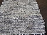 Chodnik bawełnany 65x150 cm brązowo-beżowy (k-39)