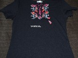 Black T-shirt with embroidery M (1)