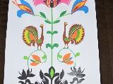 Wycinanka ludowa, mazurska - Ptaki motyw mazurski (jw-3)