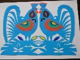 Wycinanka kurpiowska - ptaki (czk-6)