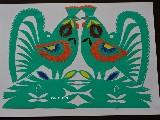 Wycinanka kurpiowska - ptaki (czk-7)