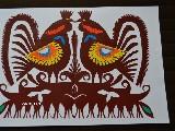 Wycinanka kurpiowska - ptaki (czk-12)
