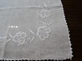 Serweta lniana, haftowana 60x60 cm (wk-5)