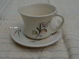 Garncarstwo - Ceramika bolimowska - filiżanka do kawy ze spodkiem (dk-2)