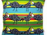 Poduszka dekoracyjna folk kurki 40x40 (039)