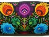 Poduszka ozdobna folk kwiaty łowickie 30x65 (03)