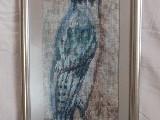 Obraz haftowany - ptaki (bw-1)
