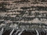 Chodnik bawełniany (wycieraczka) zielono-ecru 65x50