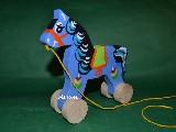 Zabawka ludowa - Konik na k�kach (hz-2)