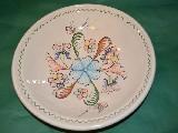 Garncarstwo - Ceramika bolimowska - Półmisek duży, śred. 29 cm