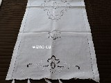 Folk hand-embroidered towel 128x46 cm (czk-3)