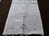 Ręcznik ludowy haftowany, mereżka 128x46 cm (czk-3)