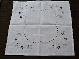 Hand embroidered tablecloth 5x48 cm (czk-1)