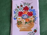 Kartka okolicznościowa ręcznie malowana (kz-29)
