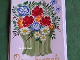 Kartka okolicznościowa ręcznie malowana (kz-30)