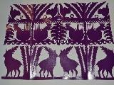 Wycinanka kurpiowska scenka rodzajowa - lasy 24x34 cm (czk-9)