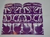 Wycinanka kurpiowska scenka rodzajowa - lasy 24x30 cm (czk-10)