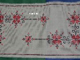 Embroidered tabel runner 95x49 (czk-9)
