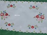 Bieżnik bawełniany haftowany 88x33 (czk-10)