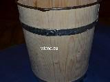 Naczynie klepkowane, Wiaderko drewniane poj. 10 l