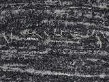 Chodnik bawełniany, ręcznie tkany, biało-szary  65x150