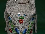 Torebka haftowna - haft kaszubski (zcz-1)