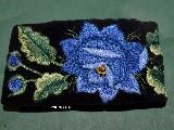 Bransoletka łowicka róża niebieska (z-cz-1)