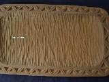 Miska karpacka, drewniana, rzeźbiona 42x24 cm (ag-1)