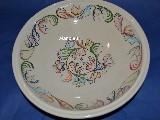 Ceramika bolimowska - misa śred. 30 cm, wys. 8 cm