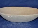 Naczynie drewniane - miska dł. 23 cm, szer. 12 cm (26)