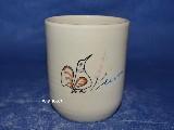 Ceramika bolimowska - kubek bez ucha poj. 0,25 l
